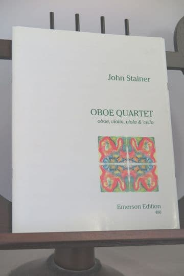 Stainer J - Oboe Quartet for Oboe Violin Viola 7 Cello